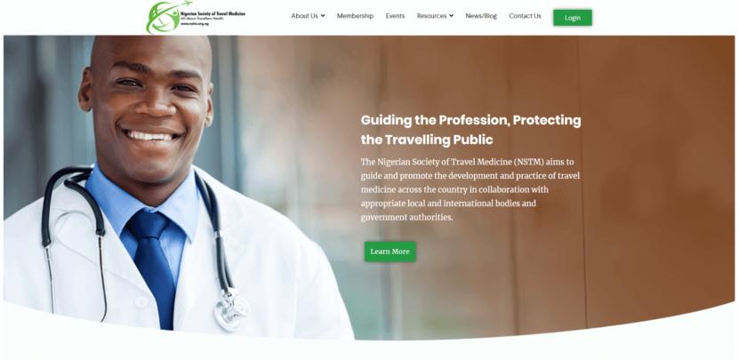 NSTM Website - Web Development