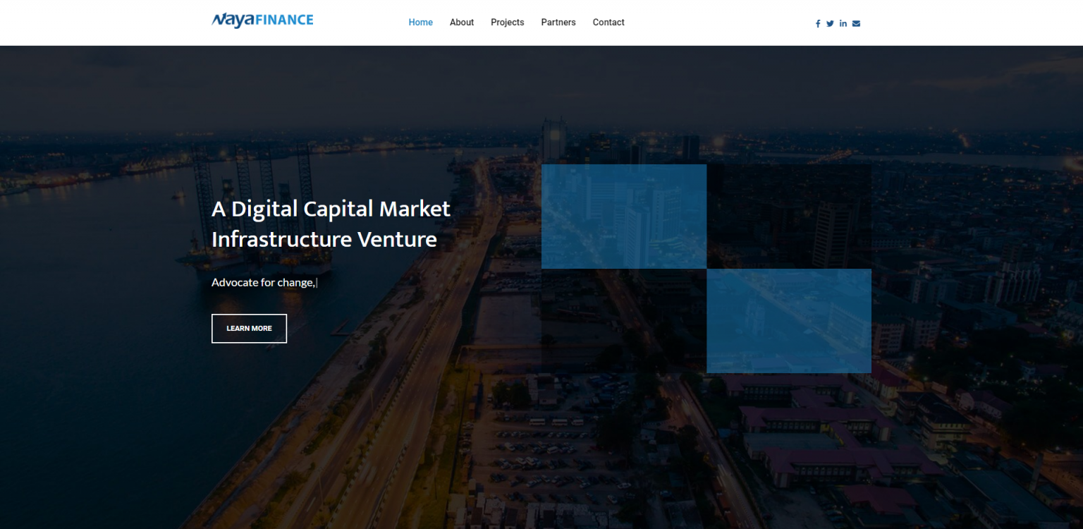 NaYa Finance Website - Website & Web Development